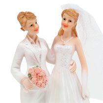Bryllupsfigur kvinne par 17cm