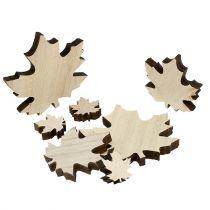 Treblader, lønneblader blandes 2,5 cm - 7 cm 36 stk