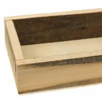 Naturlig trebrett 37,5 cm x 14,5 cm H6,3 cm