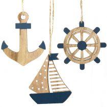 Trebøyle maritim 8,5-10cm 6stk