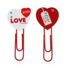 """Treklips hjerte """"Love"""" dekorativt hjerte Valentinsdag gave 2stk"""