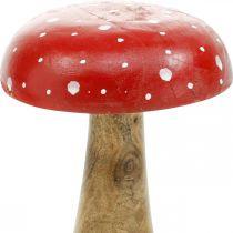 Fluesopppynt dekorativ sopp høst Ø12cm H19cm