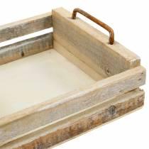 Trebrett med firkantede håndtak 30 × 30/24 × 24/18 × 18cm, sett med 3
