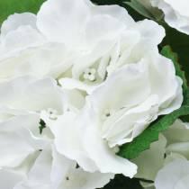 Hortensia i en blomsterpotte Kunstig Hvit 35cm