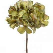Hortensia kunstig grønn kunstig blomst 64cm