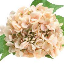 Hortensia kunstig rosa 61cm
