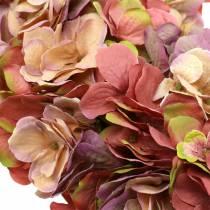 Hortensia krans gammel rose Ø44cm