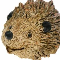 Dekorativ figur pinnsvin natur 6,5 cm