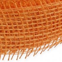 Jutebånd lys oransje 5cm 40m