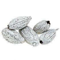 Kakaopodder vasket hvite 15stk