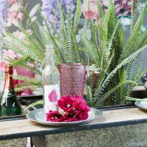 Lysekopp, koppeglass, lykt, glassdekorasjon Ø10cm H18,5cm