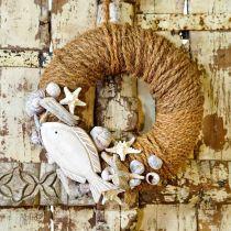 Kokosgarn naturlig Ø4mm 15m