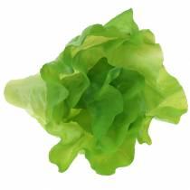 Grønn salat kunstig ekte touch 17cm