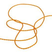 Ledning oransje 2mm 50m