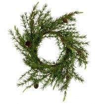 Krans, bordkranslerk grønn Ø50cm