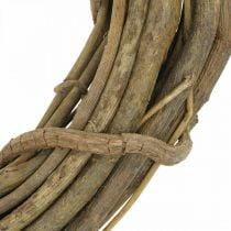 Dekorativ krans av grener natur Ø35cm