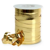 Samlebånd skinnende 10mm 250m gull