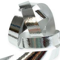 Delt båndglans 10mm 250m sølv