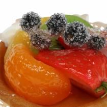 Kunstig mandarintærte Ø8cm