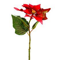 Kunstige blomster julestjerne rød L73cm