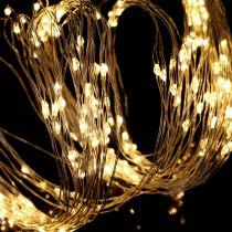 LED-lyspakke for innvendig og utvendig 640 1,9 m sølv / varmhvit
