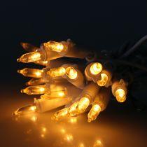 LED minikjede 20L hvit varmhvit 3m