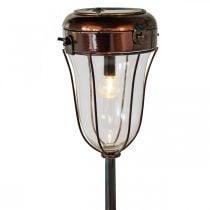 Sollykt å plugge inn, LED-rørlampe Ø13,5cm L58cm H21cm