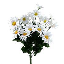 Bukett med tusenfryd hvit 45cm
