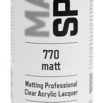 Matt spray profesjonell akrylmaling 400ml
