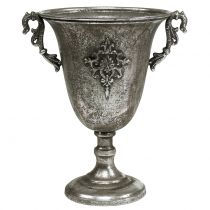 Kopp laget av metall antikt sølv Ø20.0cm H30cm