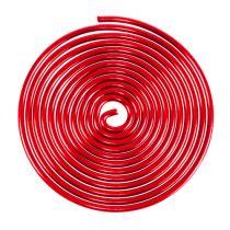 Aluminiumsskrue metallskrue rød 2mm 120cm 2stk