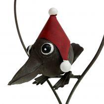 Bird in the heart dekorasjonshenger metall grå 48cm