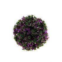 Mini ball syrin med blomster Ø12cm 1p