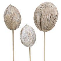 Mintolla ball on stick mix hvitvasket 6stk