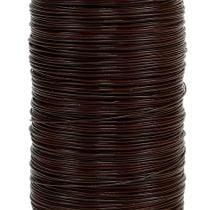 Myrtle wire brun 0,35mm 100g