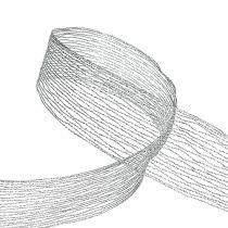 Meshbånd sølvtrådforsterket 40mm 15m