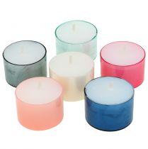 Colorlights telys pastell diverse 40 stk