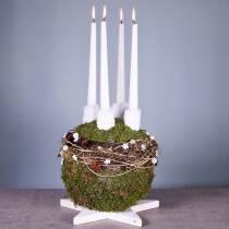 Blomsterskumball maxi plug-in størrelse Ø30cm