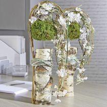 Blomster skum sylinder tørr pasta grå H5cm Ø8cm 20stk
