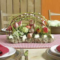 Blomsterdekorasjon av blomsterskum, murstein 29cm x 12cm x 8,5cm 4 stk