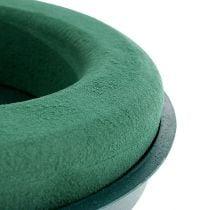 Plug-in sammensatt ring plug-in skum med skallgrønn Ø30cm H4,5cm 2stk