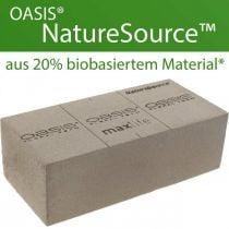 OASIS® NatureSource mursteinblomsterskum 23cm × 11cm × 7cm 10stk
