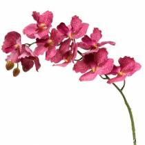 Kunstig orkidégren Rosa H83cm