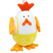 Malet egg som hane å henge i blandingen 7,5 cm 12stk