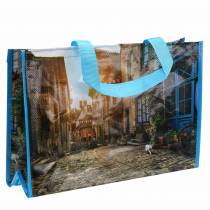 Handlepose med håndtak Brittany plast 45 × 14 × 30 cm shopper