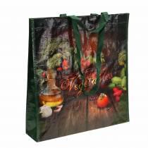 Handlepose med håndtak Grønnsaker plast 38 × 10 × 39cm