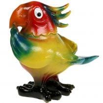 Papegøyefigur 11,5cm farget 1p