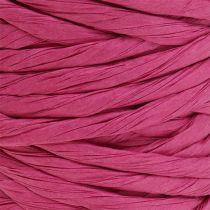 Papirledning 6mm 23m rosa