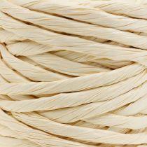 Papirledning 6mm 23m naturlig