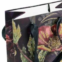 Gavepose til blomsterflasker 8,5 cm x 14 cm H36 cm